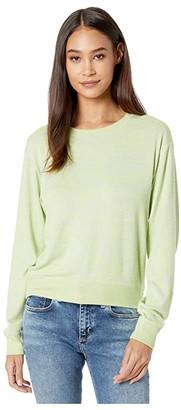 Rag & Bone Avryl Pullover (Lime Green Multi) Women's Clothing