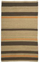 Random Stripe Natural Rug