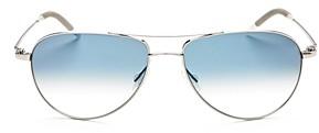 Oliver Peoples Men's Benedict Aviator Sunglasses, 59mm