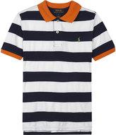 Ralph Lauren Striped Cotton Polo Shirt 6-14 Years