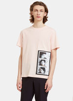 Raf Simons Men's Self Portrait T-shirt In Pink