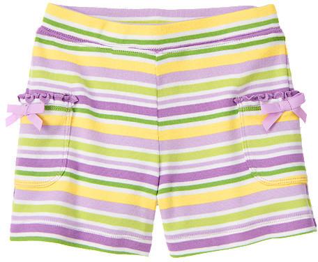 Gymboree Stripe Bow Pocket Short