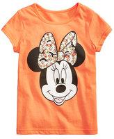 Disney Disney's Minnie Mouse Candy T-Shirt, Little Girls (4-6X)