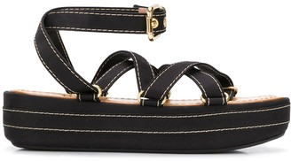 Marni Flatform Strappy Sandals