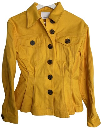 Acler Yellow Denim - Jeans Jackets