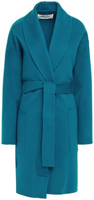 Diane von Furstenberg Beled Brushed Wool-felt Coat