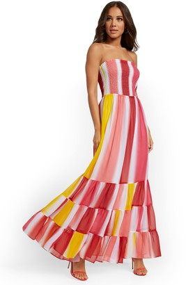 New York & Co. Tiered Maxi Dress