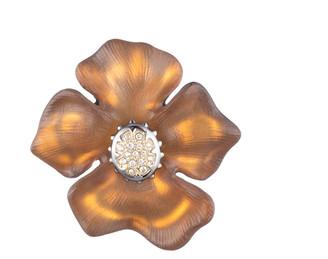 Alexis Bittar Georgian Flower Pin