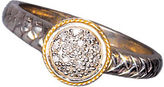 EFFY Balissima Sterling Silver & 18 Kt. Yellow Gold Diamond Ring, .07 CTW