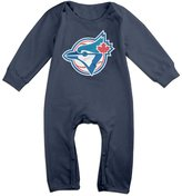 Enlove Toronto Blue Jays BABY Cartoon Long Sleeves Baby Onesies Bodysuit For Babies Size 6 M