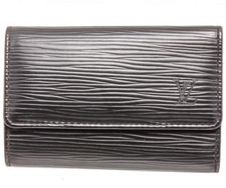 Louis Vuitton Black Epi Leather 6-Key Holder