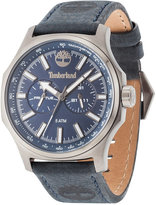 Timberland Men's Mascoma 2 Black Leather Strap Watch 45x54mm TBL14813JSU03