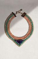 BCBGMAXAZRIA Stone Tribal Necklace