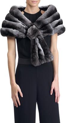 Gorski Chinchilla Fur Stole