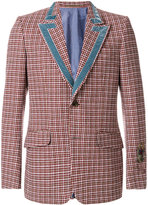 Gucci - Heritage houndstooth wool jacket