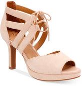 Clarks Artisan Women's Mayra Ellie Peep-Toe Dress Sandals