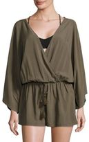 Vince Camuto Pacific Coast Studded Cover-Up Romper