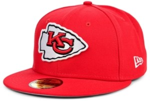 New Era Kansas City Chiefs Team Color Basic 59 Fifty Fitted Cap