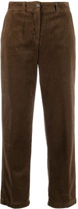 Aspesi Corduroy Cropped Trousers