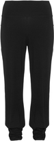 Isolde Roth Plus Size Tapered jersey trousers