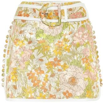 Zimmermann Super Eight cotton-blend miniskirt