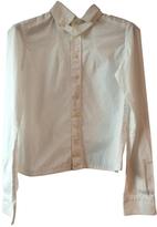 Balenciaga White Cotton Top
