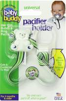 Baby Buddy Universal Pacifier Holder, Navy Lime Surfboard by