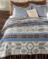 Pendleton Silver Bark Heritage Wool Queen Blanket Bedding