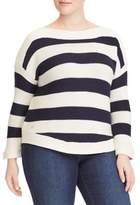 Lauren Ralph Lauren Plus Striped Sweater