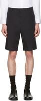 Jil Sander Blue Cotton Shorts