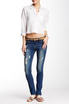 Just USA Mid Rise Slim Straight Jean