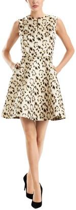 Josie Natori Leopard Sheath Dress