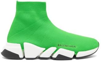 Balenciaga Speed 2.0 Trainers - Green