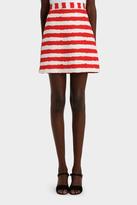 MSGM Stripe Mini Skirt