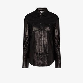 Saint Laurent Button-Down Western Shirt