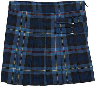 French Toast Girls Plaid Two-Tab Scooter Short Scooter Skirt