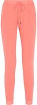 Splendid Vista Active Slub Supima Cotton-Jersey Track Pants