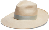 Gigi Burris Millinery Drake Toyo straw crown hat