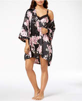Thalia Sodi Floral-Print Wrap Robe, Created for Macy's