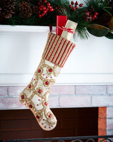 Kim Seybert Fireworks Christmas Stocking
