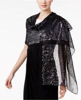 INC International Concepts Sequined Squares Evening Wrap, Created for Macy's