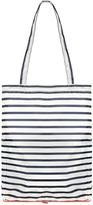 Accessorize Stripe Packable Shopper Bag