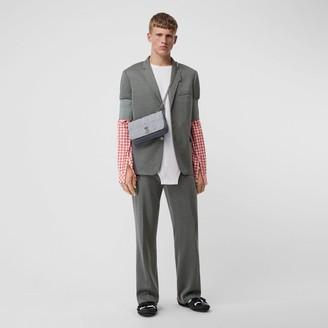 Burberry Cashmere Silk Jersey Wide-leg Trousers