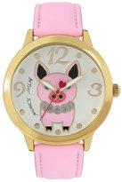 Betsey Johnson Princess Pig Watch