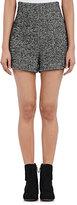 Philosophy di Lorenzo Serafini Women's Herringbone Tweed Shorts-BLACK