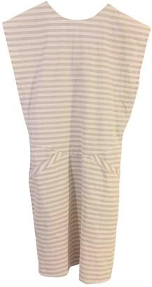 MAISON KITSUNÉ Beige Cotton Dresses