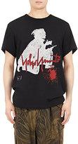 Yohji Yamamoto Men's Oversized Samurai-Print Cotton T-Shirt