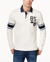 Tommy Hilfiger Men's Colorblocked Patch Rugby Shirt