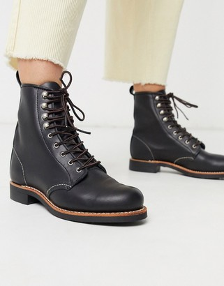 Red Wing Shoes Silversmith leather lace up boot