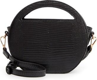 Mali & Lili Karlie Vegan Leather Circle Bag